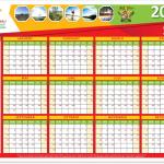 Safe Stars Calendar 2021